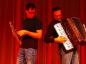 Rudi Katholnig, accordion, Hans Peter Steiner, saxofon